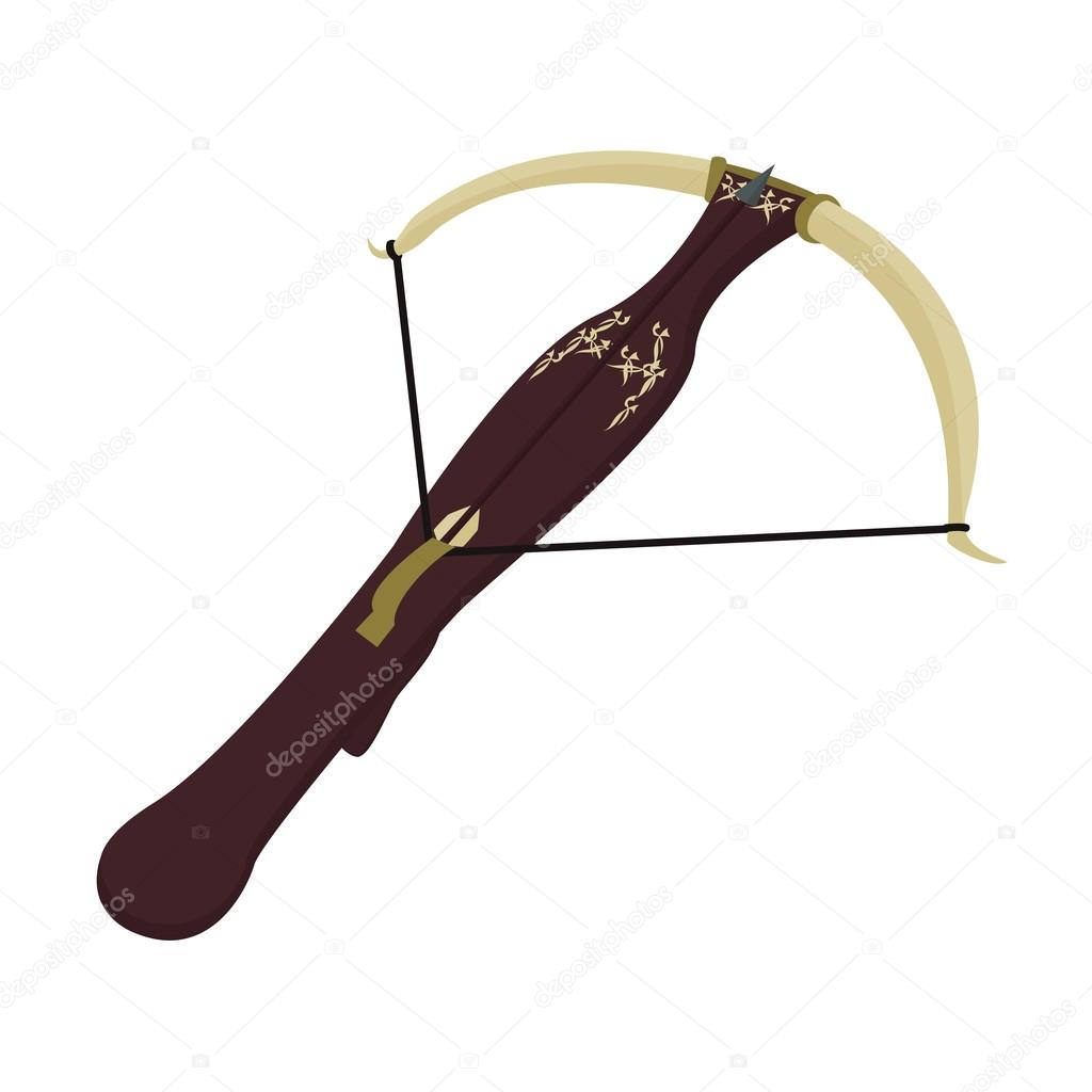 Arrow clipart victorian Crossbow illustration arrow with vector