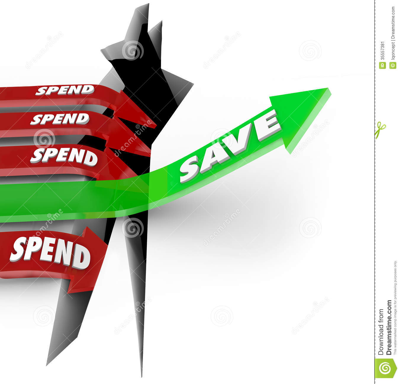 Arrow clipart money Panda spend%20money%20clipart Images Clipart Save