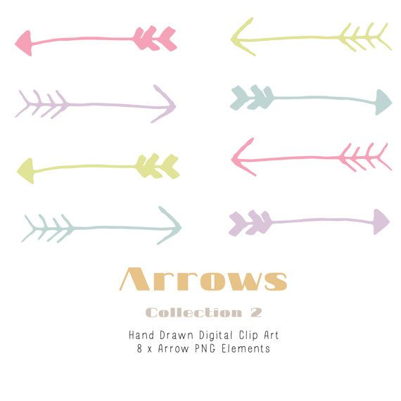 Arrow clipart shabby chic Pinterest Drawn 354 best images