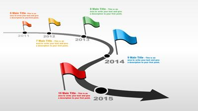 Arrow clipart timeline #6