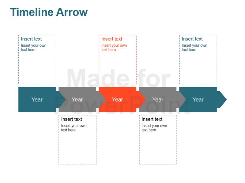 Arrow clipart timeline #9