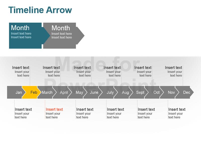 Arrow clipart timeline #8