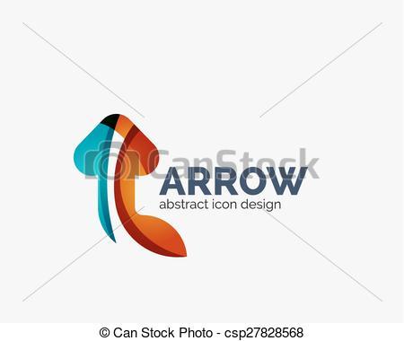 Arrow clipart wave #4