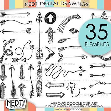 Arrow clipart signboard Art Whimsical 35 Personal Arrows