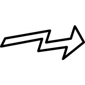 Arrow clipart zig zag Art Free clip vector vector