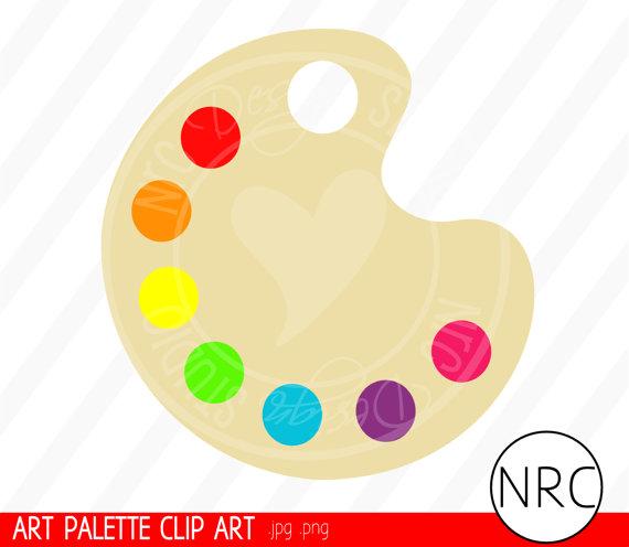 Artistic clipart art pallet Artist palette Clipart Clipart palette