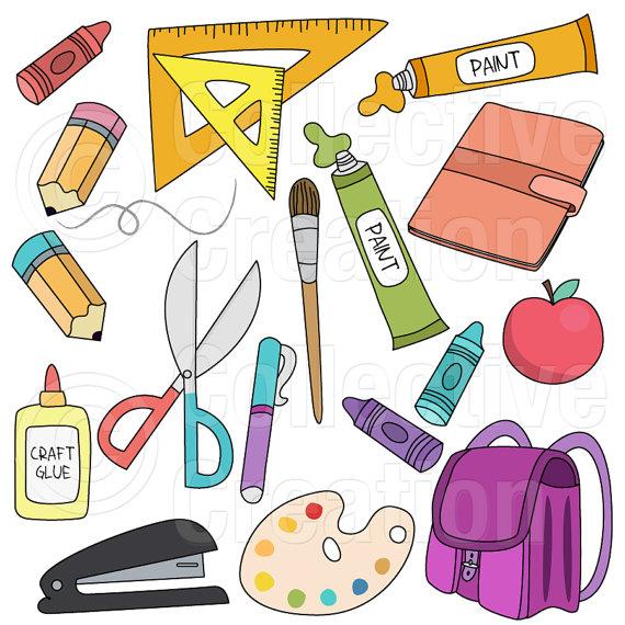 Bag clipart school supply Zu more! Supplies Digital To
