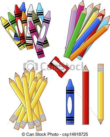 Artistic clipart drawing material Clip supplies clipart supplies art