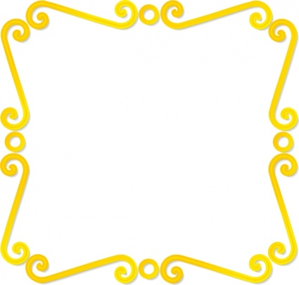 Yellow clipart boarder 76 borders Free Clip clipart