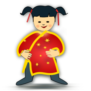Asian clipart #11