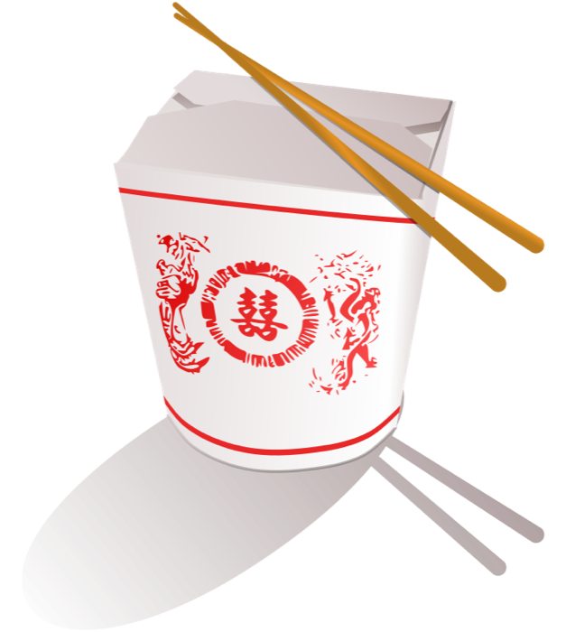 Sushi clipart logo Take Out Food Container Chinese