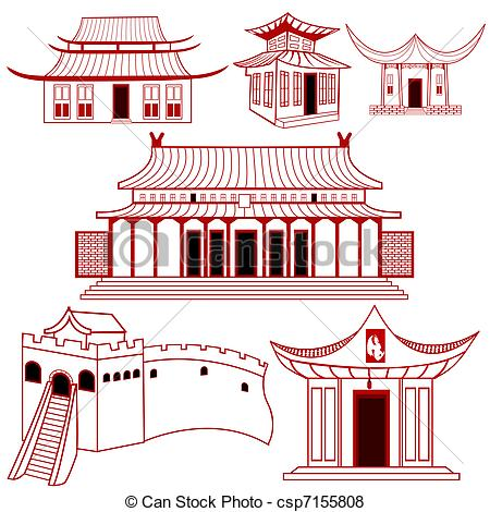 Asian clipart chinese building Chinese Clipart House Traditional Chinese