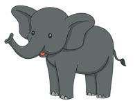Asian Elephant clipart Elephant Clipart Graphics Illustrations Free