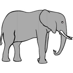 Asian Elephant clipart gray elephant Clip art Clipart clip elephant