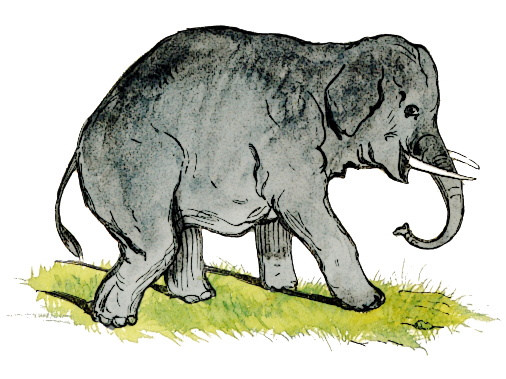 Asian Elephant clipart gray elephant Small page Small Clipart Eared