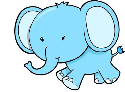 Asian Elephant clipart line art Elephants on a is Cartoon