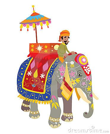 Asian Elephant clipart ornamental Pictures best 26 decorated Google