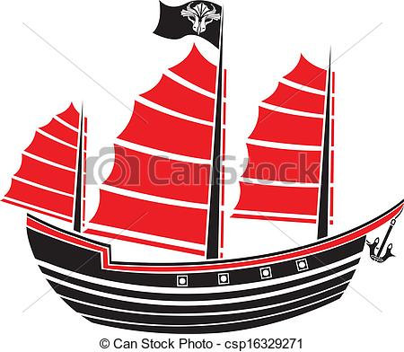 Asians clipart boat  Asian for csp16329271 of