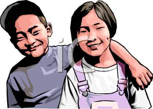 Asians clipart brother and sister Royalty Brother Clipart Royalty and