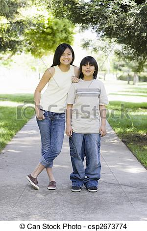 Asians clipart brother and sister  Camera Smiling Smiling Brother