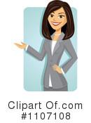 Asians clipart businesswoman (RF) Clipart Character Market Illustration