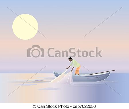 Asians clipart fisherman Asian fisherman of asian an