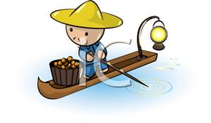 Asians clipart fisherman Man Small Small In Picture: