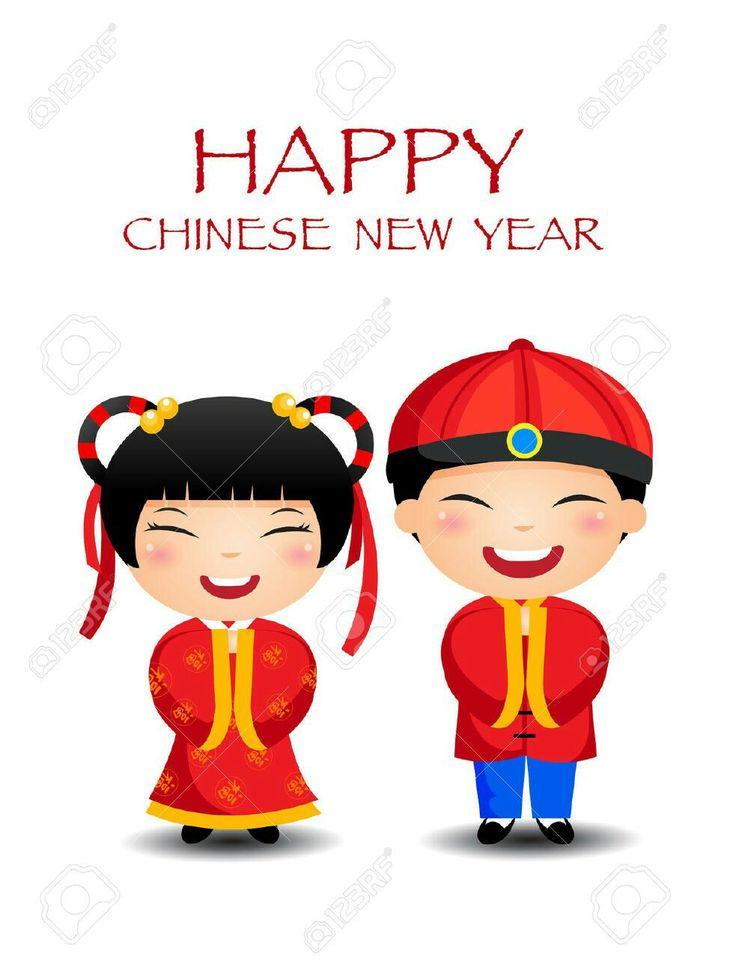 Asians clipart happy China images best Doodles Pinterest