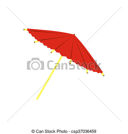 Asians clipart parasol Csp37036459 icon flat flat or
