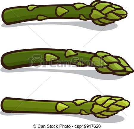 Asparagus clipart Clip illustration Illustrations Vector Vector