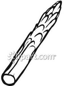 Asparagus clipart black and white Clipart Asparagus Free Black Gallery