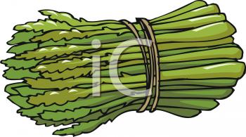 Asparagus clipart bunch Bunch Asparagus foodclipart Clipart asparagus