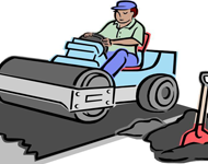 Asphalt clipart road construction Paver  facts clipart asphalt