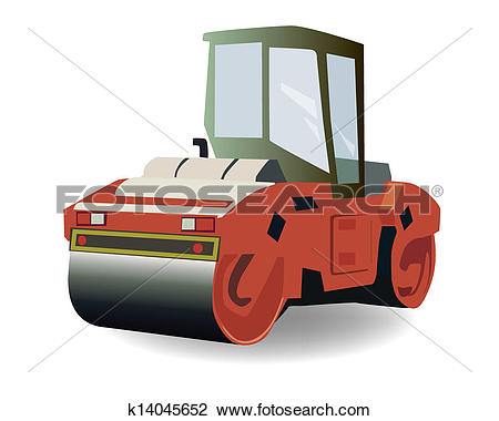 Asphalt clipart asphalt roller Clipart of Asphalt compactor Clipart
