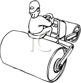 Asphalt clipart black and white Clipart Royalty collection Cartoon paving