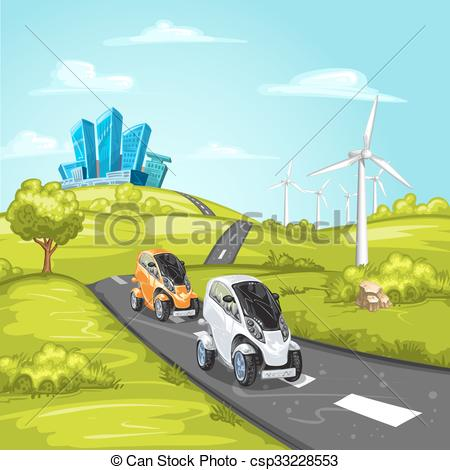 Asphalt clipart car road On asphalt city  of