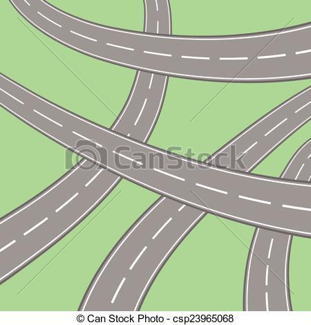Asphalt clipart junction Asphalt Vector roads asphalt