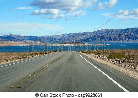 Asphalt clipart road trip Leading Paved road of road
