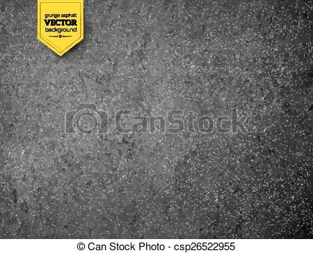 Asphalt clipart texture Csp26522955 Vector background  Asphalt