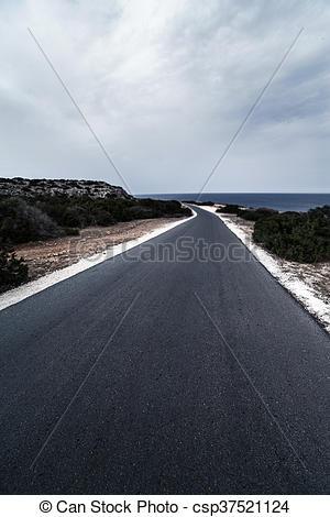 / Photo road Asphalt High