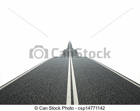 Asphalt clipart way Asphalt image  of 3d