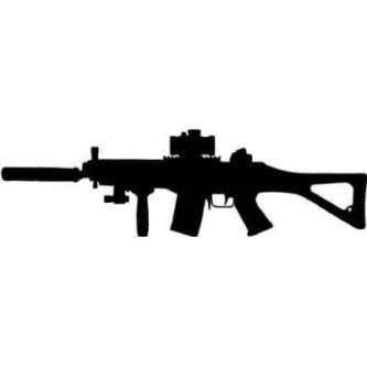 Assault Rifle clipart ClipartPen Assault Rifle #14145 Free