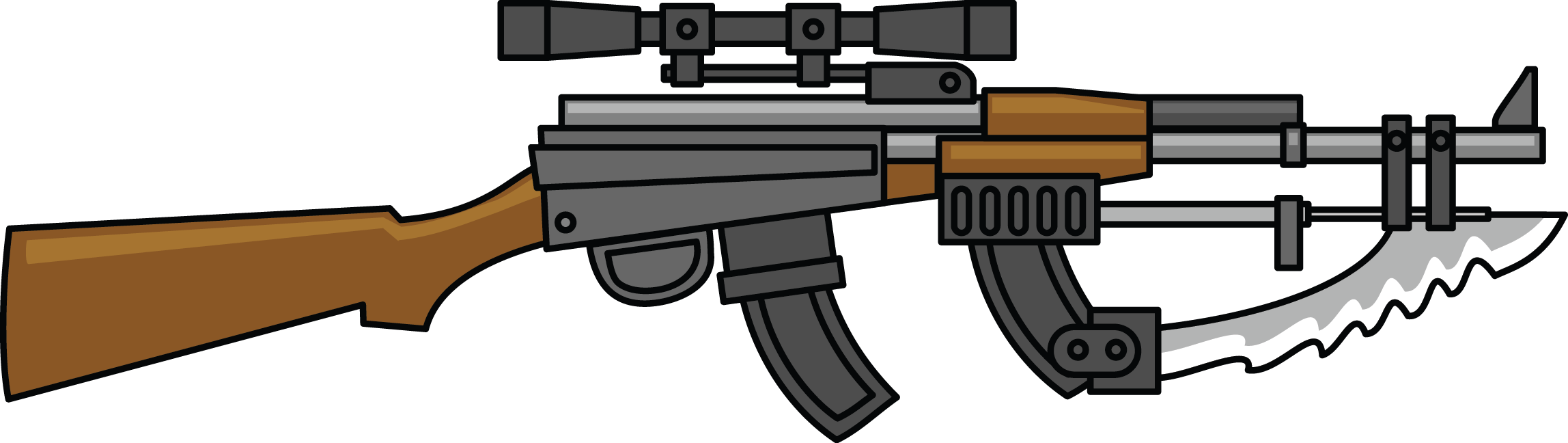 Shotgun clipart hammerless Art Public to Blade Use