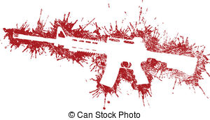 Blood clipart lab work Stains  Rifle Can Assault