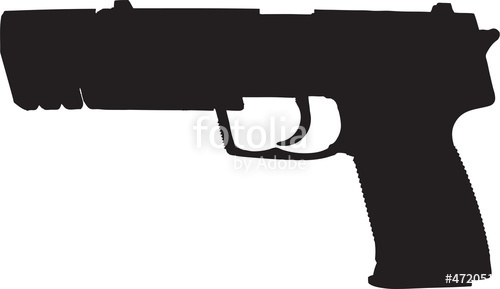 Assault Rifle clipart automatic Rifle w/ clip com clipping