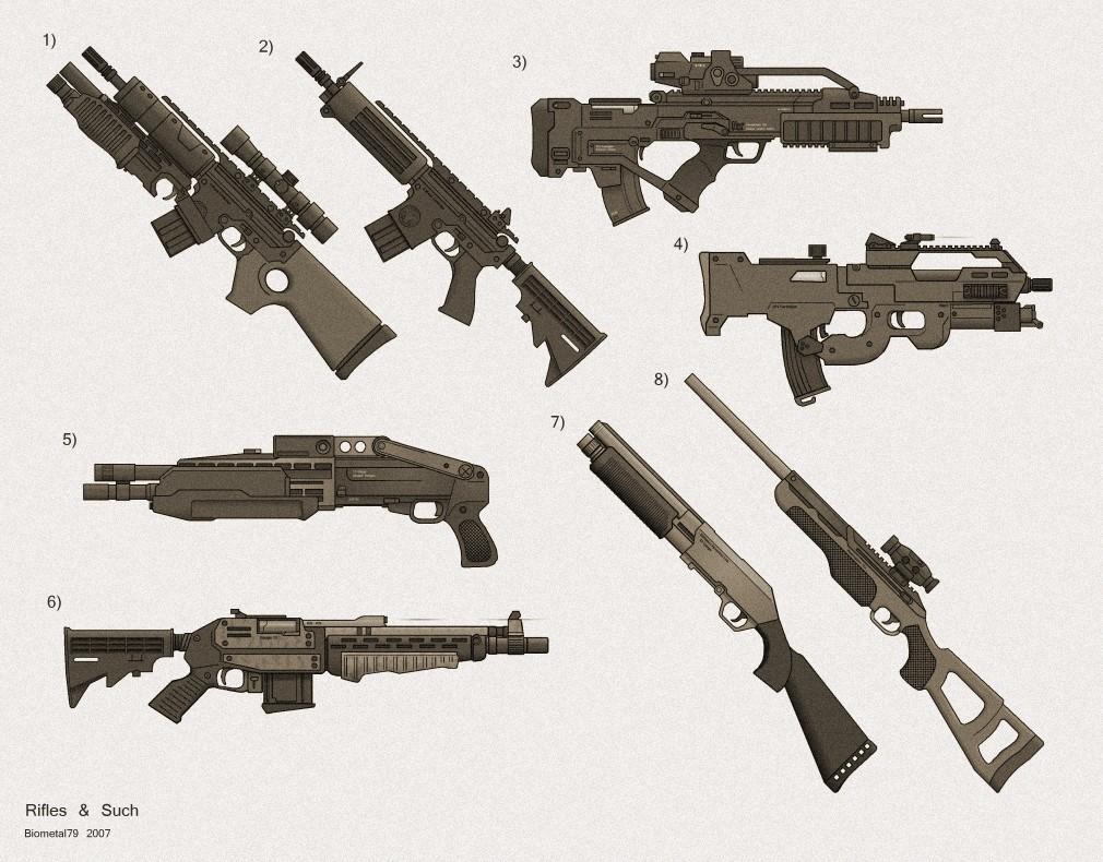 Machine Gun clipart modern Complete Sci Shadowrun] NAOW! Colt