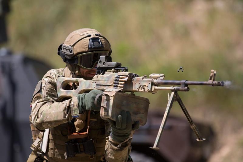 Assault Rifle clipart g27p Original of A the Machinery