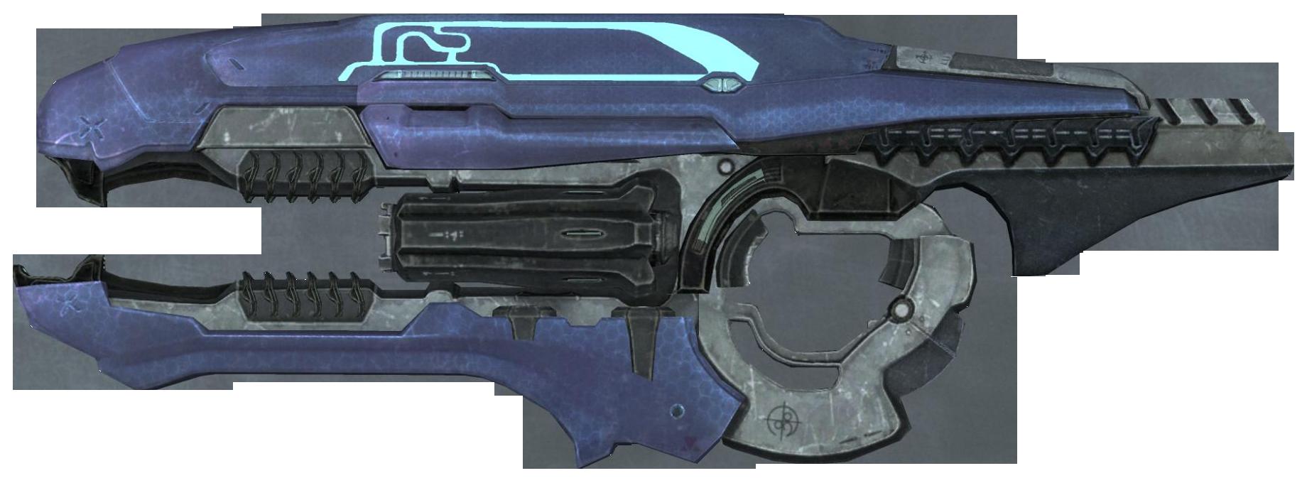 Assault Rifle clipart halo #14