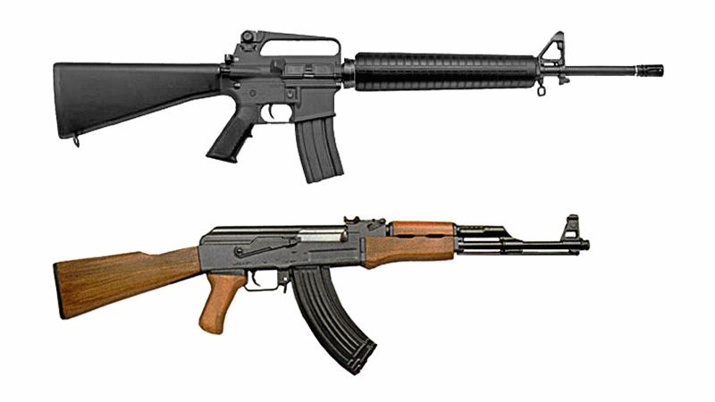 Assault Rifle clipart m16 Assault M16 PNG assault download