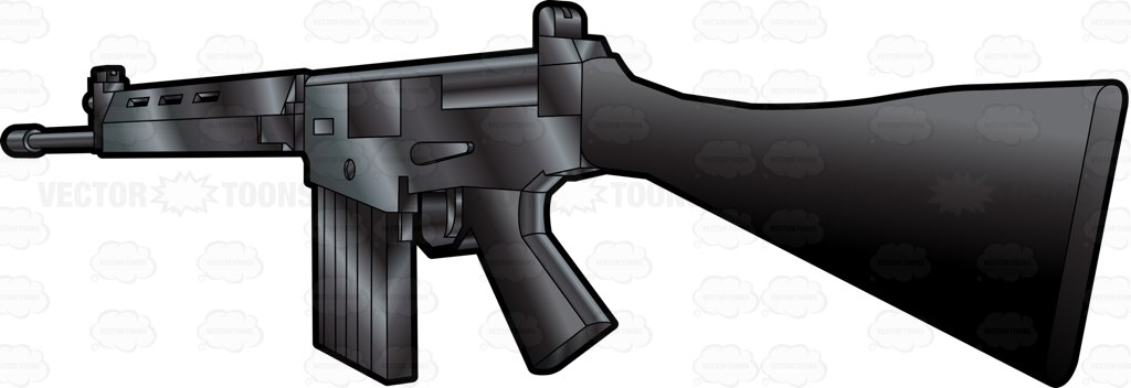 Assault Rifle clipart military  Falcon A View Military